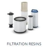 Filtration resins and polyurethane manufacturer