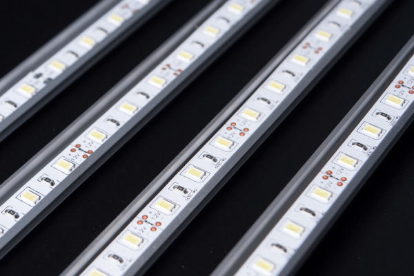 Optically clear polymers offering the best encapsulation for LED stripes