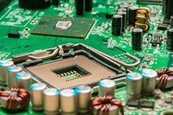 Microelectronic epoxy resin and polyurethane compound