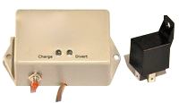 Epoxy potted renewable energy charge controller