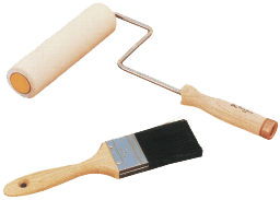 Epoxy paint roller adhesive
