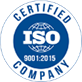 Certified ISO 9001-2015 Company